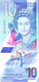 Bancnota Caraibe ( Eastern Caribbean ) 10 Dolari (2019) - PNew UNC ( polimer )