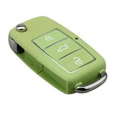 Carcasa Cheie Briceag VW 3 Butoane VERDE Design NOU