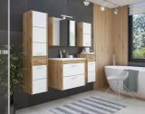 Set Mobilier pentru baie, 7 piese, Ibiza White