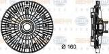 Vascocuplaj / Cupla ventilator radiator BMW Seria 5 Touring (E39) (1997 - 2004) HELLA 8MV 376 732-101