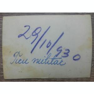 Militari romani// fotografie, 1930