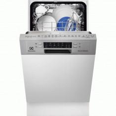 Masina de spalat vase partial incorporabila Electrolux ESI4610ROX, 9 seturi, clasa energetica A++