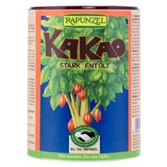 Pudra de Cacao Bio Degresata Rapunzel 250gr Cod: 1433235