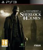 Joc PS3 The Testament of Sherlock Holmes