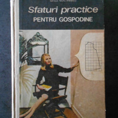 NATALIA TAUTU STANESCU - SFATURI PRACTICE PENTRU GOSPODINE (CROITORIE)