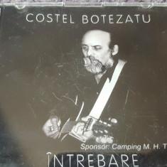 """Cumpara ieftin CD muzica folk Costel Botezatu, cu autograf, """"Intrebare"""""""