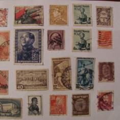 GE - Lot 100 timbre vechi deparaiate straine / o parte interbelice (2)