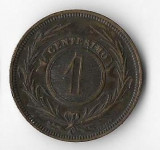Moneda 1 centesimo 1869 - Uruguay
