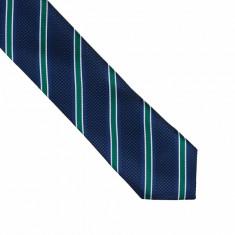 Cravata bleumarin subtire Louise