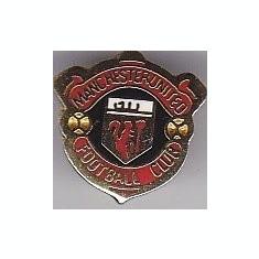 Insigna mica Manchester United originala