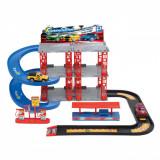 Set garaj cu 2 masinute de jucarie, 47×39.5×26 cm, multicolor