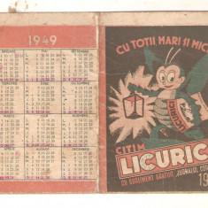 Orar Revista Licurici 1949