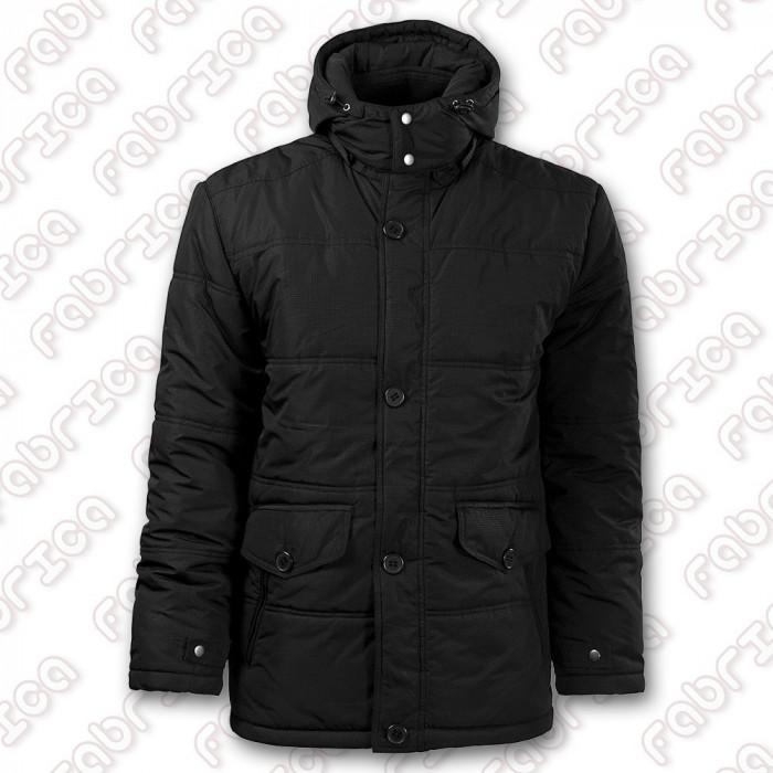 Nordic - Jachetă vătuită, cu glugă