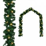 242424 Ghirlandă de Crăciun cu becuri LED, 20 m