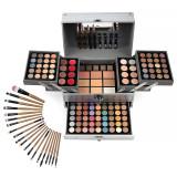 Trusa Machiaj Multifunctionala Complete Makeup Tip Geanta + CADOU