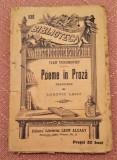 Poeme In Proza. B.P.T. Nr. 530 Editura Alcalay - Ivan Turghenief