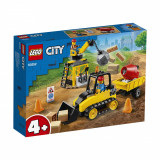 LEGO® City Great Vehicles - Buldozer pentru constructii (60252)