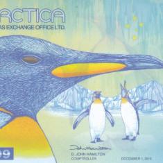 Bancnota Antarctica 1 Dolar 2015 - PNL UNC ( polimer )