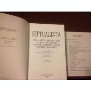 BIBLIA- SEPTUAGINTA, VOL.5( CEI 12 PROFEȚI MICI)