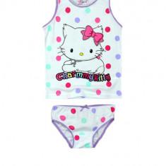 Set maiou si chilot pentru fetite E Plus M Charmmy Kitty SA CHK 52 32 057-1, Multicolor