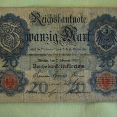 20 Mark / Marci 1908 GERMANIA