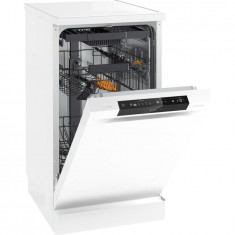 Masina de spalat vase GS 54110 W, 10 seturi, 5 programe, clasa A++, 45 cm, alb, Gorenje