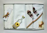 Trusou pentru botez, 7 piese, traditional - spic / clop / tarancuta / taran