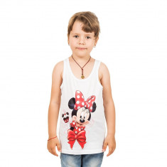 Maiou fete Minnie Mouse alb