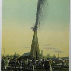 Campina - Eruptiunea Sondei No. 27, circulata 1912