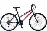 """Bicicleta MTB Dame Vision Venus Culoare Negru/Roz , Roata 26"""" OtelPB Cod:202606000308"""