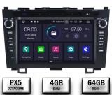 Navigatie Honda CRV 2006-2012, Android 10, OCTACORE PX5 4GB RAM + 64 ROM cu DVD, 8 Inch - AD-BGWCRV0612P5