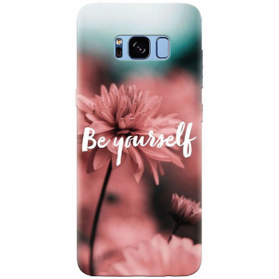 Husa silicon pentru Samsung S8 Plus, Be Yourself foto