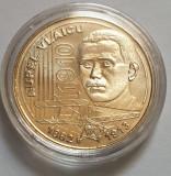 Monedă 50 bani 2010 Aurel Vlaicu necirculata in capsula.