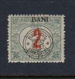ROMANIA 1919 - CLUJ ORADEA  PORTO 2 BANI EROARE BANI SUS  MNH BODOR, Nestampilat