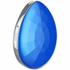 Mini GPS Tracker iUni D19, SOS, GPS+LBS+WIFI, copii si varstnici, Albastru