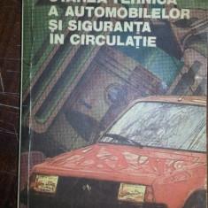 Starea tehnica a automobilelor si siguranta in circulatie – Colonel dr. ing. Mihai Stratulat