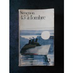 GEORGES SIMENON - 45* A LA L`OMBRE (limba franceza)