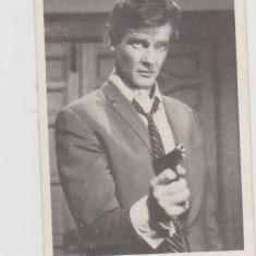 CARTE POSTALA(Fotografie) - Actori si Cantareti celebrii : ROGER MOORE (Sfantul)