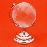 Glob pamantesc din cristal 80 mm