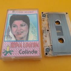 CASETA AUDIO IRINA LOGHIN-COLINDE ORIGINALA