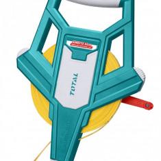 Ruleta 50m x 12,5mm - eficienta 3:1 - fibra sticla - MTO-TMTF12506