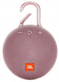 Boxa Portabila JBL Clip 3, Bluetooth, Waterproof (Roz)