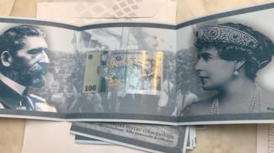 Bancnote Centenar Necirculate 100 lei 2018 foto