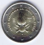 ITALIA moneda 2 euro comemorativa 2020 - pompierii, UNC, Europa, Cupru-Nichel