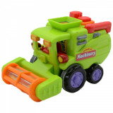 Jucarie pentru baieti combina agricola Huile Toys 386ABCC, Verde
