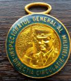 BRELOC ROMANIA - INSPECTORATUL GENERAL AL MILITIEI - DIRECTIA CIRCULATIE, R.S.R