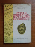 Izvoare si marturii straine despre stramosii poporului roman