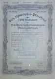 1000 Reichsmark titlu de stat Germania 1936