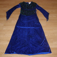 costum carnaval serbare contesa rochie medievala printesa pentru copii 9-10 ani