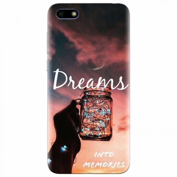Husa silicon pentru Huawei Y5 Prime 2018, Dreams